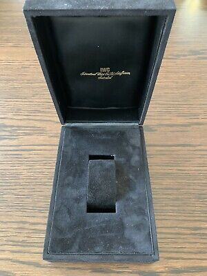 Genuine IWC Steel Line Watch Box (e.g. for Ingenieur Jumbo 1832)