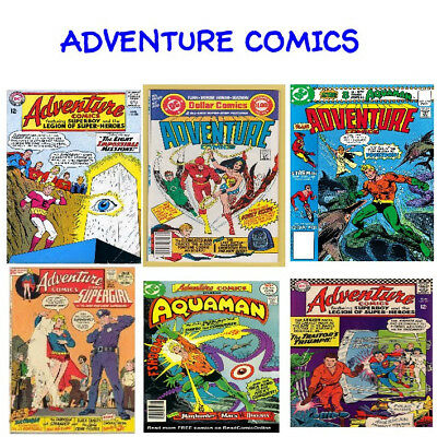 Adventure Comics Digital Comic Collection