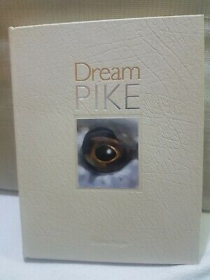 SIGNED Leatherbound  Pike  Fishing Book Dream Pike