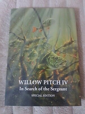 Sold Out Perch Fishing Book LEP  Limited Special edition 40/45 Willow Pitch IV