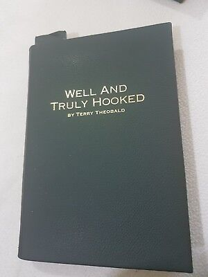 Leatherbound Carp Pike Perch Chub Barbel Fishing Book by Terry Theobald