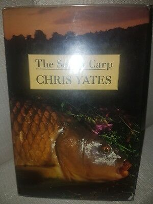 Signed Chris Yates The Secret Carp First Edition Fishing Book