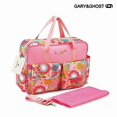 GARY&GHOST-T8064-Impermeable Floral Bolso Cambiador Bolsa Maternal a Todos, 39