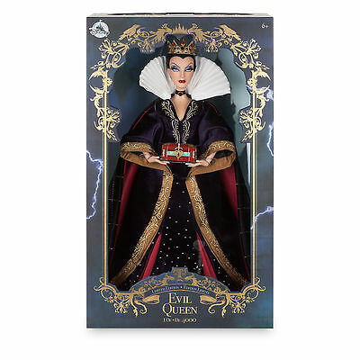 """EVIL QUEEN 17"""" Disney Store limited snow white 1 of 4000"""