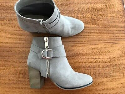 5011b107c434 NWOT Women s Apt. 9 Timezone High Heel Ankle Boots Taupe Size 8