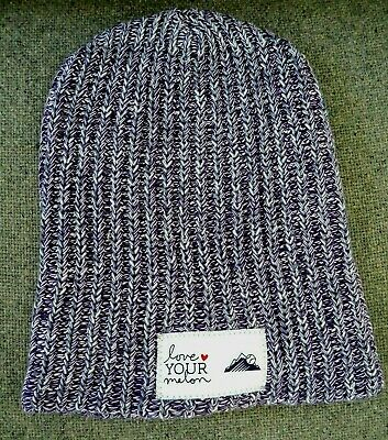 7878c192b47 Women s Love Your Melon Purple Colorado Rockies Slouchy Beanie Knitted Cap  EUC