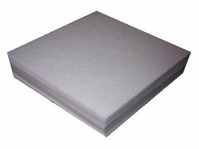 Self adhesive Sticky Tear Away Embroidery Stabilizer Backing 50 Precut Sheets
