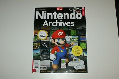 Nintendo Archives Bookazine Magazine retro gamer Second Edition New