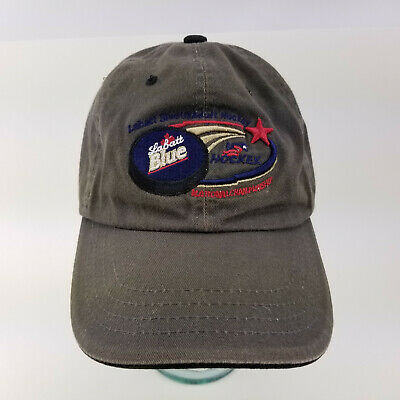 de462ef219f Labatt Blue Beer Zephyr Adjustable Hat Cap USA Hockey Nat l Championship
