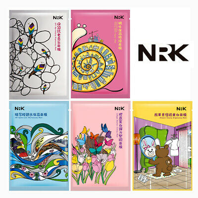 BUY 5 GET 1 FREE [NARUKO] NRK Essential Booster Series Firming Facial Mask 1pc