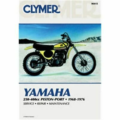 Clymer Dirt Bike Manual - Yamaha 250-400cc Piston-Port - YAM DT2 1972 - 1973;