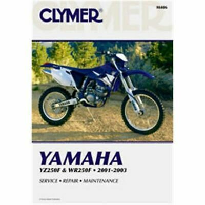 Clymer Dirt Bike Manual - Yamaha YZ250F & WR250F - YAM WR 250F 2001 - 2003;