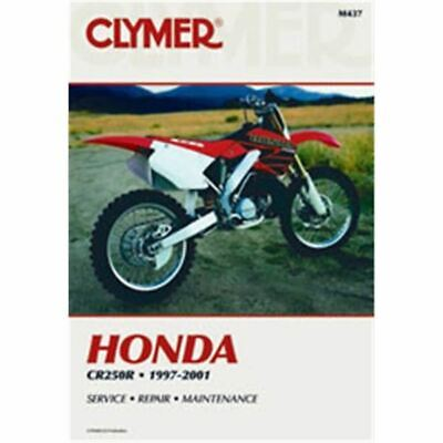 Clymer Dirt Bike Manual - Honda CR250R - HON CR 250R 1997 - 2001
