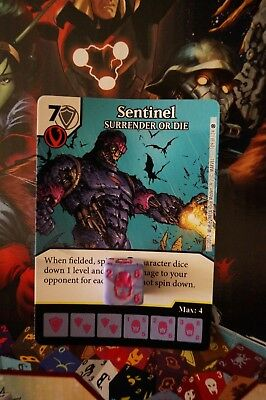 Dice Masters X-Men First Class - #109 Sentinel - RARE