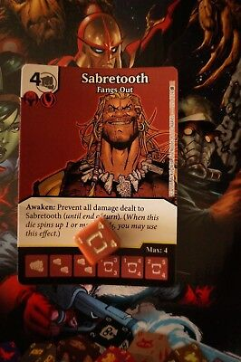 Dice Masters X-Men First Class - #105 Sabretooth - RARE