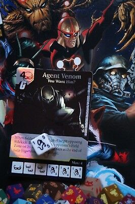 Dice Masters Guardians of the Galaxy - #082 Agent Venom - RARE FOIL