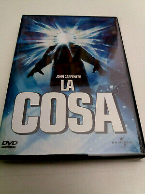 "Dvd ""La Cosa (The Thing)"" Como Nuevo John Carpenter Kurt Russell Ennio Morricone"