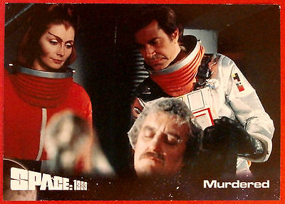 SPACE 1999 - Card #34 - Murdered - Unstoppable Cards Ltd 2015