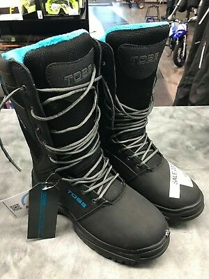 Mens TOBE Contego Boots Jet Black sz 8 700116-001-273 Snowmobile Snow Sympatex