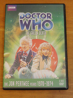 Doctor Who THE GREEN DEATH SPECIAL EDITION Story No. 69 DVD 2013 Jon Pertwee R1