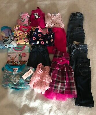 Lot of Girl Clothes Size 12/18/24 Months Paw Patrol Frozen Gymboree