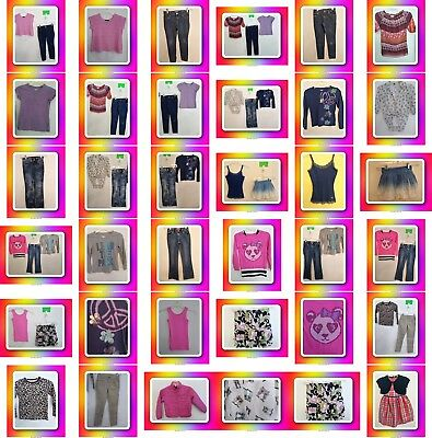 Girls Size 8 Outfits, Jeans, Tops, Skirts, Dress, Clothes, Clothing, Lot,Justice