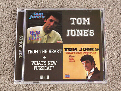 TOM JONES - From The Heart / What's New, Pussycat? - CD