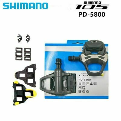 793d4e6bc83 For Shimano 105 Carbon SPD-SL PD-5800 Clipless Road Bikecycle Pedal Cleats  Pedal