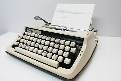 Brother Leimar Deluxe 800 Classic Typewriter - Vintage-Retro Display -Japan Made