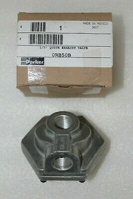 0Rb50B  Parker Watts Pneumatic Quick Exhaust Valve