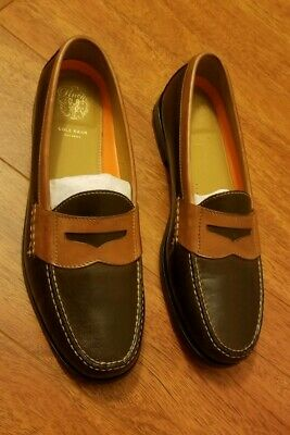 5a50fd3a338 Cole Haan Aiden Grand OS Penny II Loafer Slip On Brown Shoes Sz 11.5 M  C14473