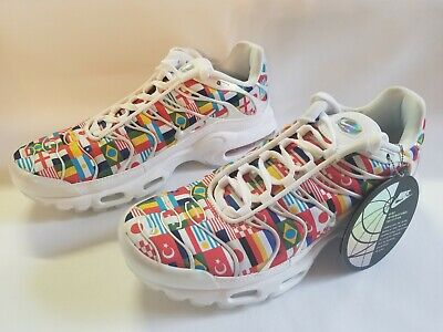 7ae690d800 Nike Air Max Plus NIC FIFA World Cup International Flag Pack AO5117-100  Men's 7
