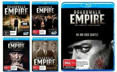 Boardwalk Empire Complete Series Blu-ray 1 2 3 4 & 5 Brand New 21 Disc Set HBO