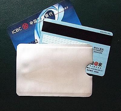 10 RFID Secure Sleeves Credit Card Blocking Protector / for your Golf Holiday