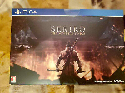 Sekiro Shadows Die Twice Collector's Edition Ps4 New Sealed Pre Order