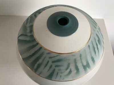 Fine Mary Wallace Large Sriral Studio Pottery