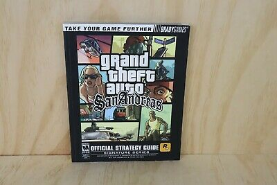 Brady Games Playstation 2 PS2 Grand Theft Auto San Andreas Official Strategy Gui