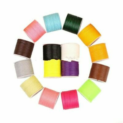 1.0-2.0mm Roll Polyester Beading Craft Korean Wax Cord Thread Macrame Waxed Rope