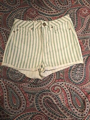 Topshop High Waisted Shorts Size 10