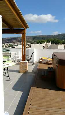 Spain. Penthouse in Benitachell. Distant sea/mount views. Optional  5% yield