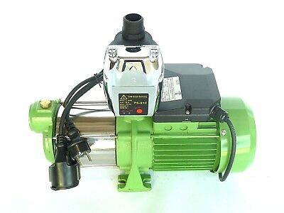 Centrifugal Pump 1,1 Kw in Stainless Steel + Control, Press Button Water Works