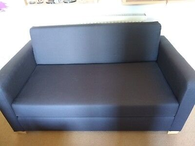 Fine Ikea Solsta Sofa Bed 2 Seater Grey Fabric 49 99 Caraccident5 Cool Chair Designs And Ideas Caraccident5Info