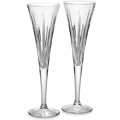 Soho Crystal Toasting Flute by Reed & Barton - Set of 8