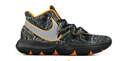 fe1e5f9f2efa NIKE KYRIE IRVING 5 V Taco PE Black Orange AO2918-902 Wood Camo Mens ...