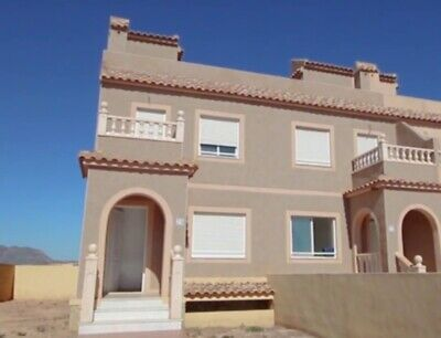 Spain. Balsicas 2B2B townhouse on new golf course. Just £65k!
