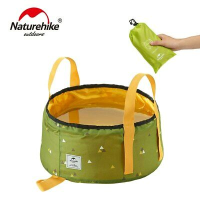 Portable Outdoor Travel Folding Water Bucket, Wash Basin (For Camping)