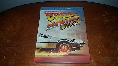 Back to the Future Trilogy Blu Ray Steelbook