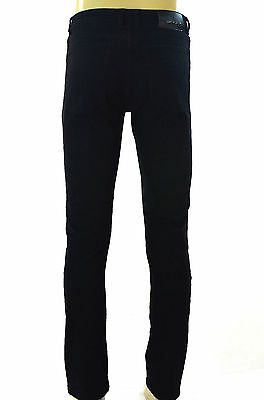 Nwt Men Eagle Blue Stretch Slim Fit Low Rise Black Jeans 2% Spandex W 30 X L 32 Clothing, Shoes & Accessories