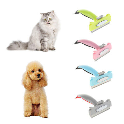 Pets Grooming Comb Dog Hair Shaver Trimmer Cat Brush Quick Safe Removal
