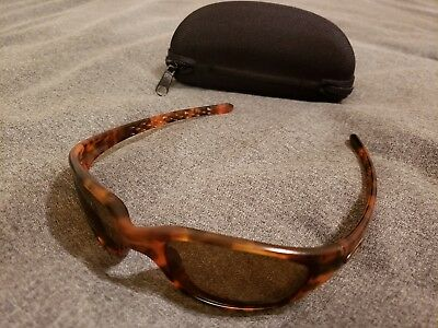 8c994d64fc Oakley Fives 1.0 Tortoise Bronze polarized Sunglasses RARE VINTAGE Brown